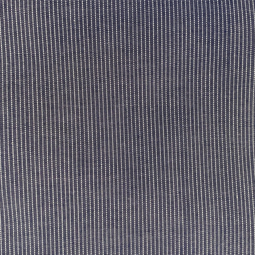 RTH TWO POCKET SHIRT - Mini Chalk Stripe - blue