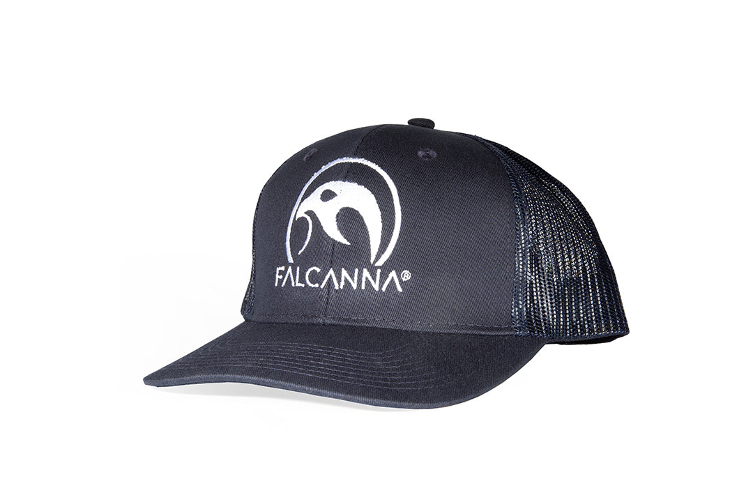 Falcanna Logo Trucker Hat (Blue)