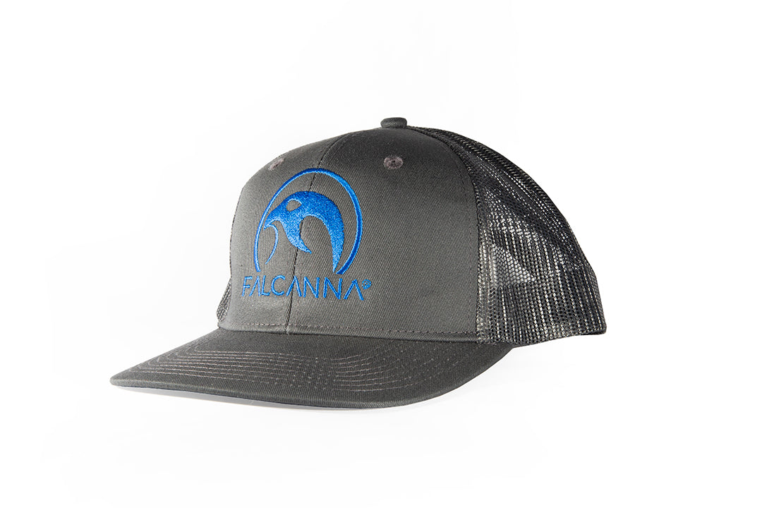 Falcanna Logo Trucker Hat (Grey)