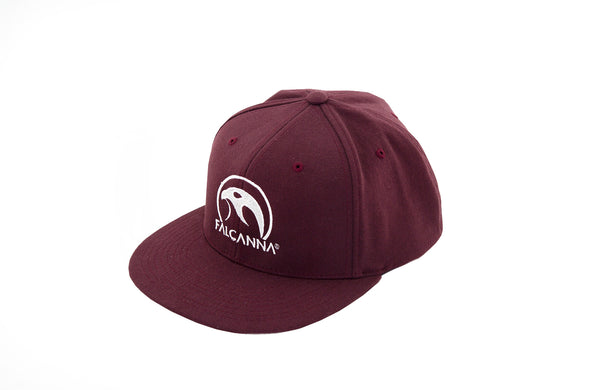 Falcanna Logo Flex Fit Maroon