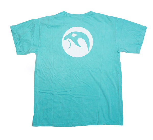 Falcanna Mens Cyan Logo Shirt