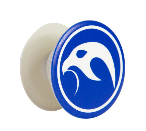 Falcanna Logo Pop Socket White Grip