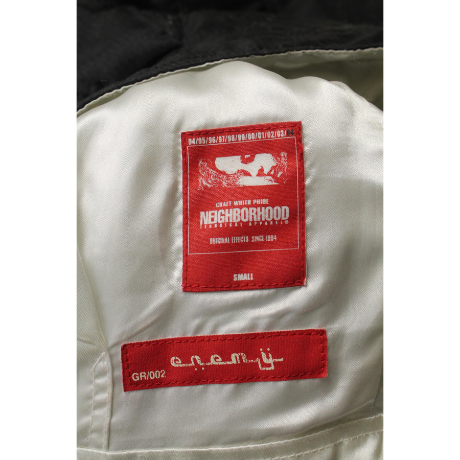 NEIGHBORHOOD/S/Blouson/BLK/Plain