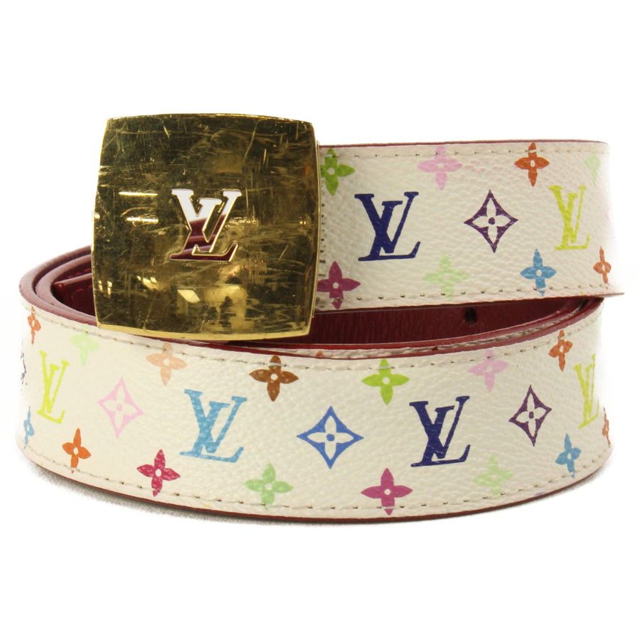 LOUIS VUITTON/Belt/Monogram/Multi Color