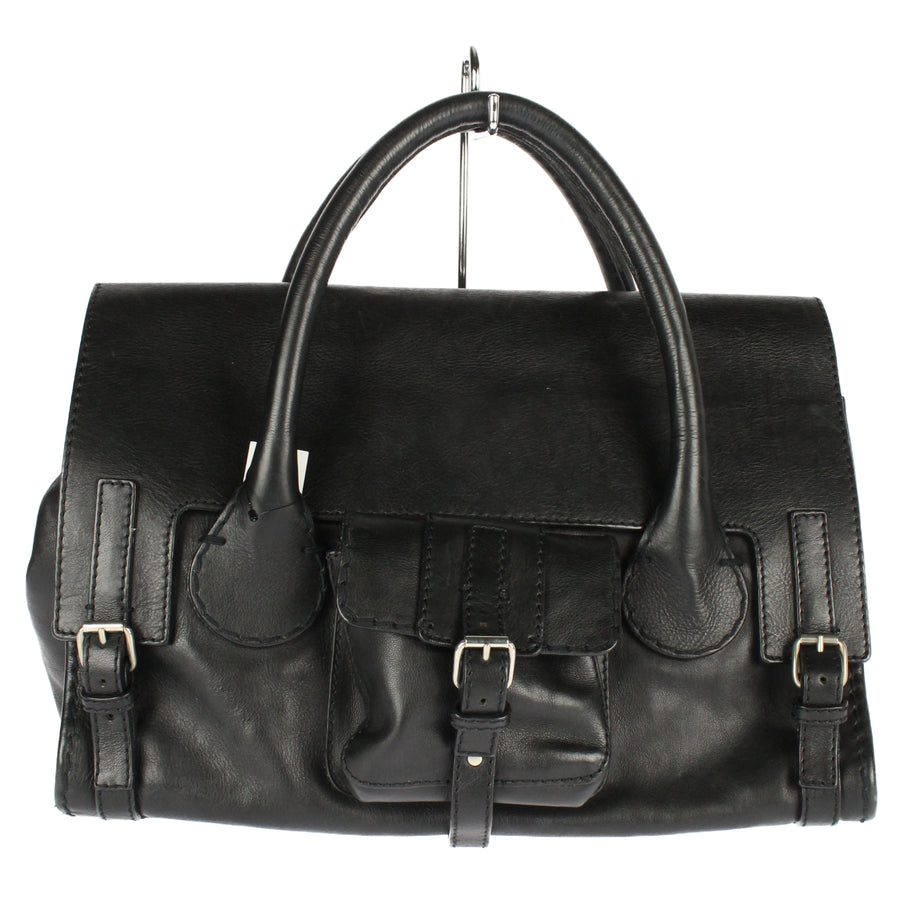 Chloe/Hand Bag/BLK/Leather