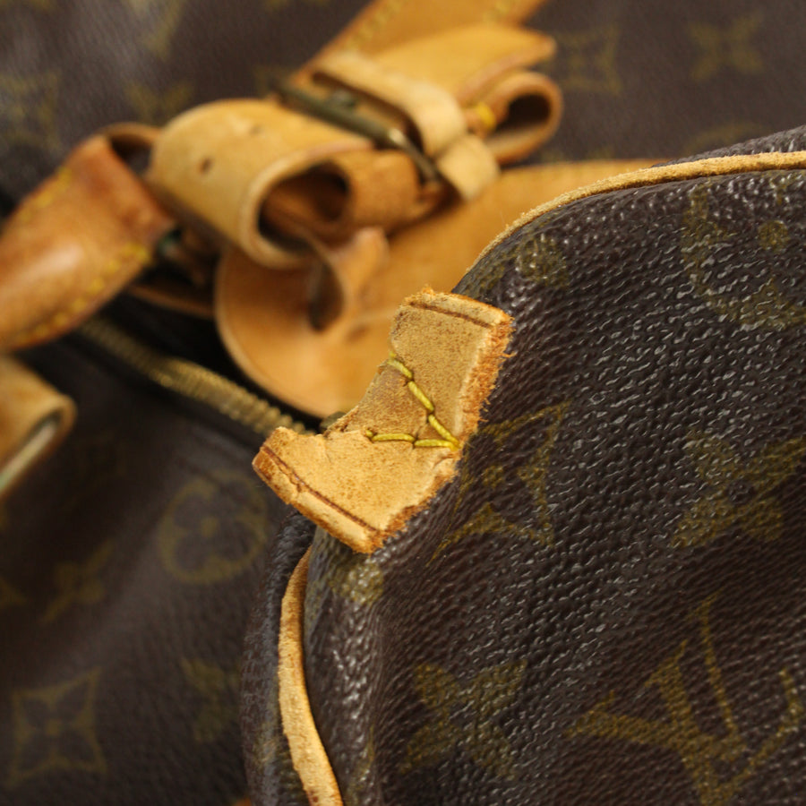 LOUIS VUITTON/Boston Bag/Keepall/BRW/Monogram