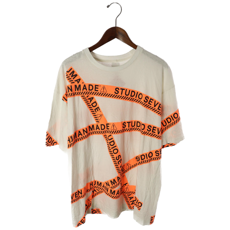 HUMAN MADE/T-Shirt/XL/Cotton/WHT