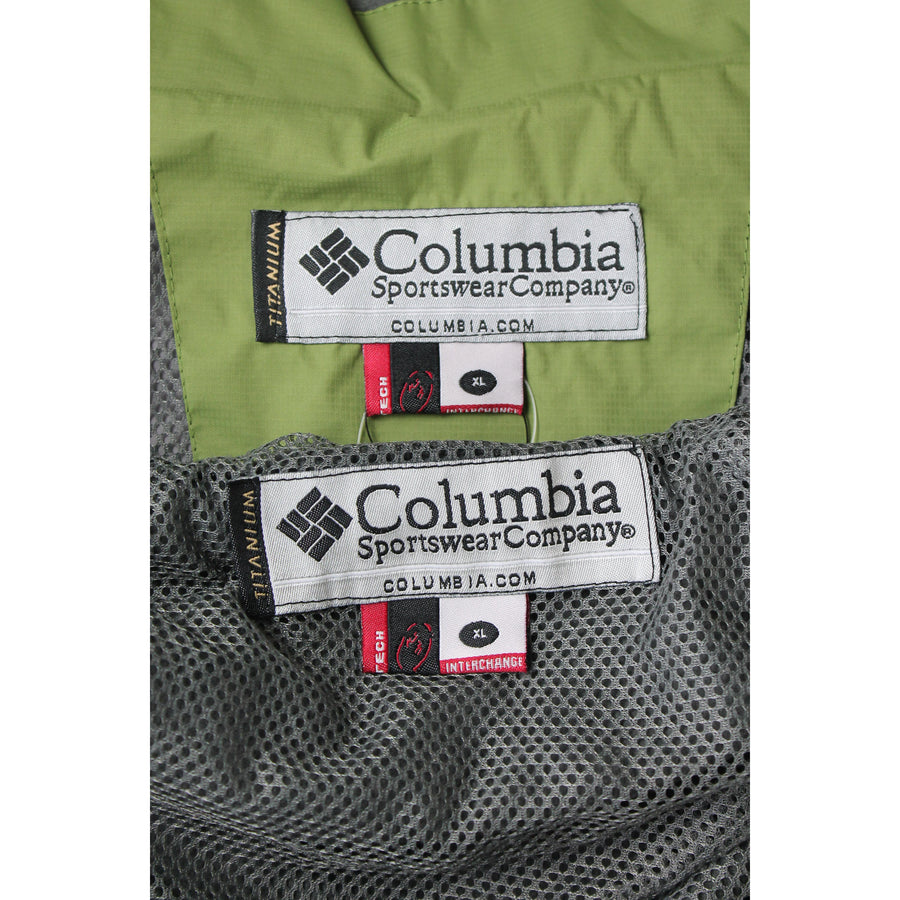 Columbia/Windbreaker/XL/Nylon/GRN