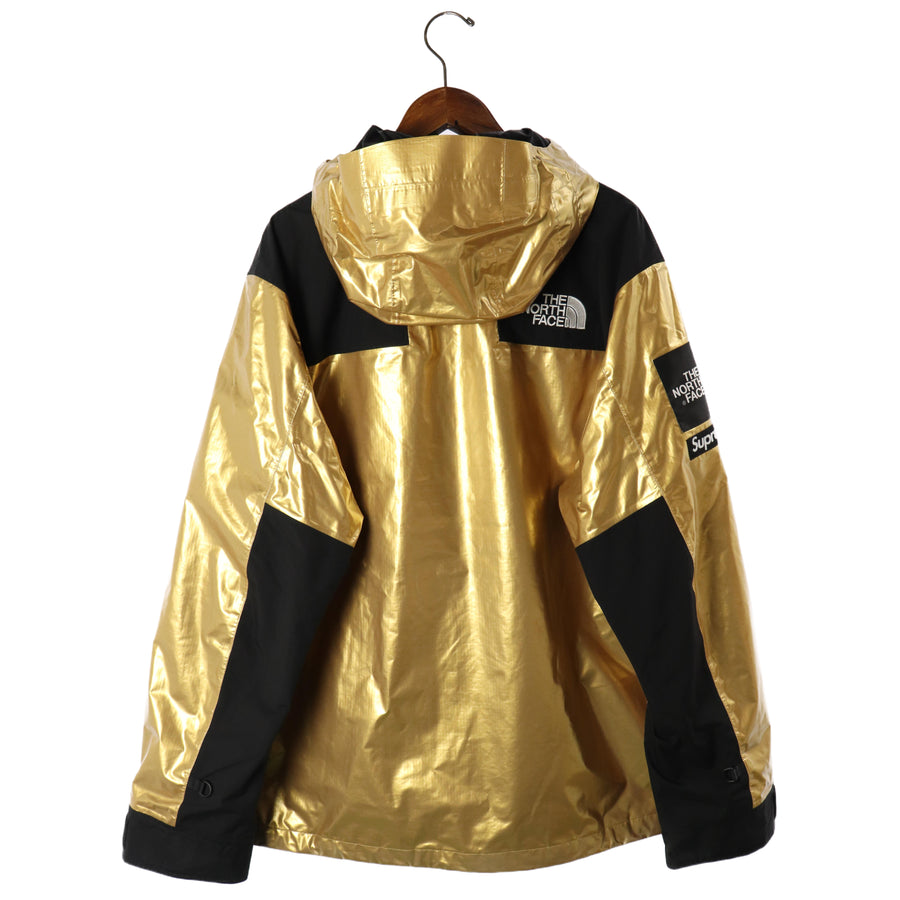 Supreme/Metallic Mountain Parka/18SS/XL/Nylon/GLD