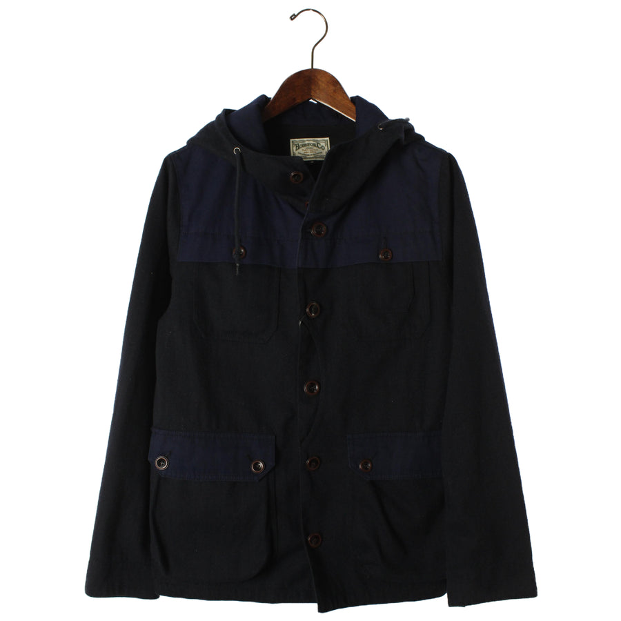 HOUSTON/Mountain Parka/M/Wool/BLK