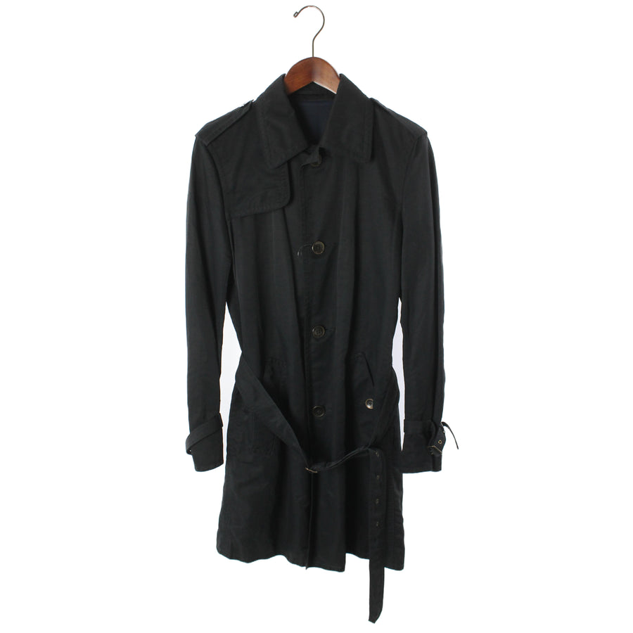 TOMORROWLAND/Trench Coat/M/Nylon/BLK