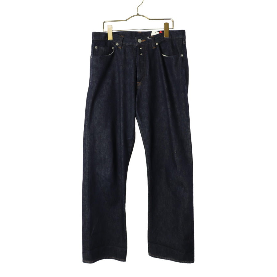 .efLevol/Straight Pants/2/Denim/IDG/Plain