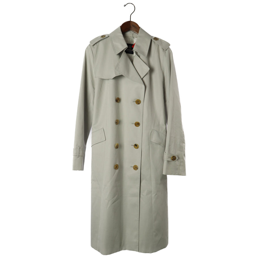 Aquascutum/Trench Coat/Cotton/GRY