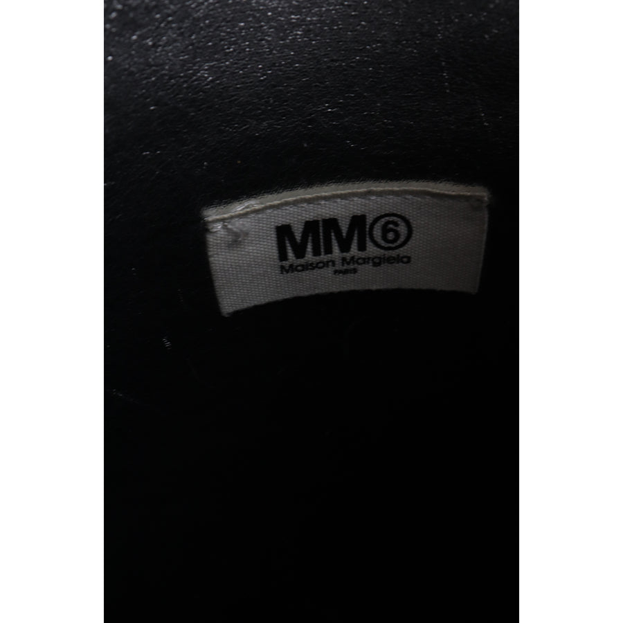 MM6/Cross Body Bag/Leather/BLK