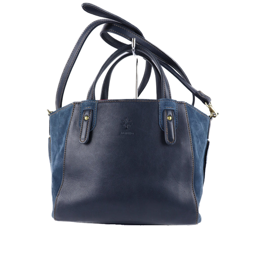 ALBERO/Hand Bag/Leather/NVY