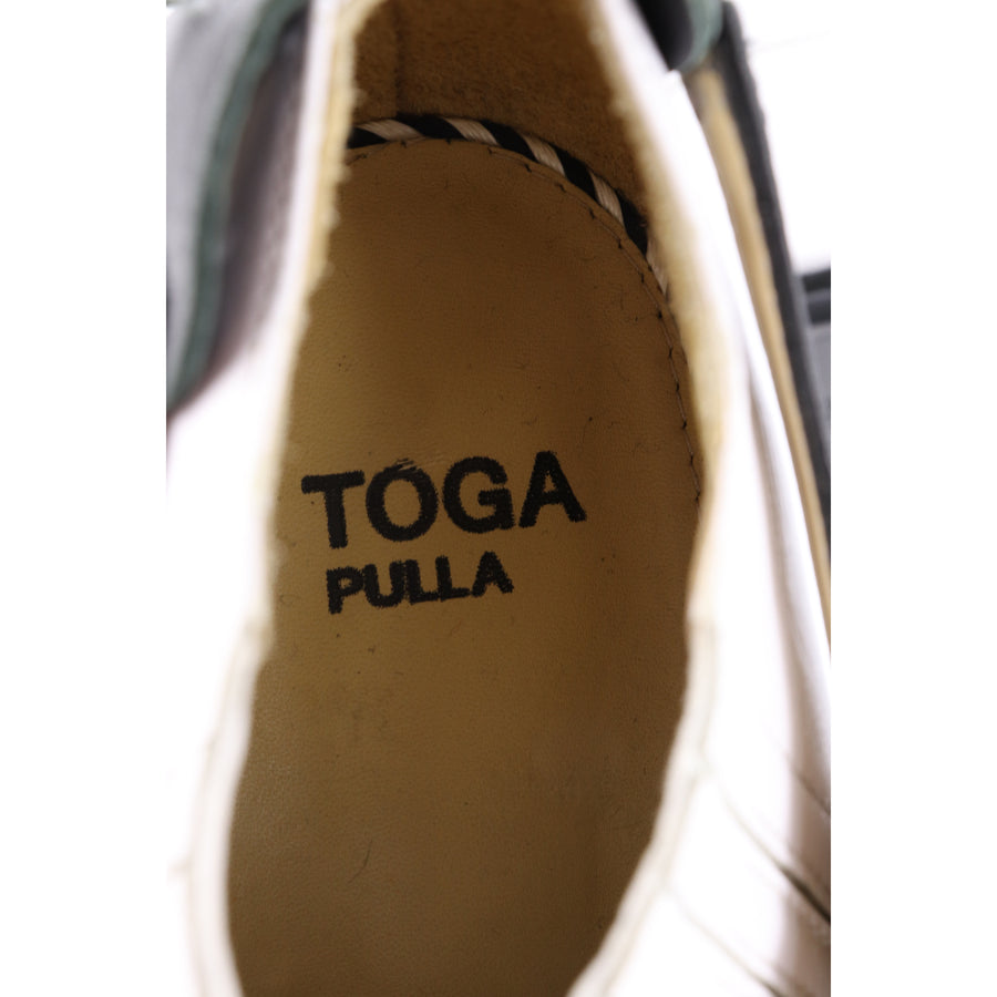 TOGA PULLA/Western Shoes/WHT/Leather