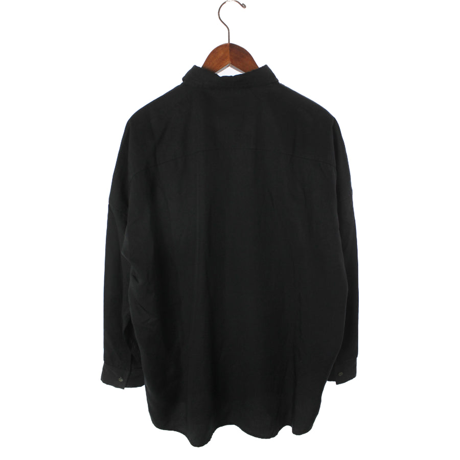 SHAREEF/LS Shirt/1/BLK