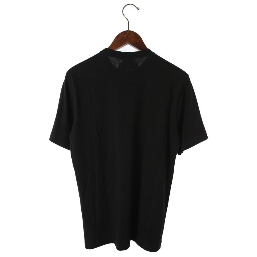 VETEMENTS/18AW/TOURIST TEE CHINA/T-Shirt/XS/Cotton/BLK/UAH19TR301