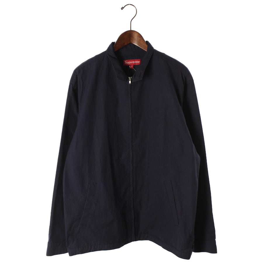 Supreme/Debossed LogoCorduroyJacket/XL/Cotton/NVY