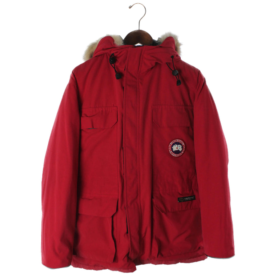 CANADA GOOSE/68f8490/Puffer Jacket/L/Nylon/RED