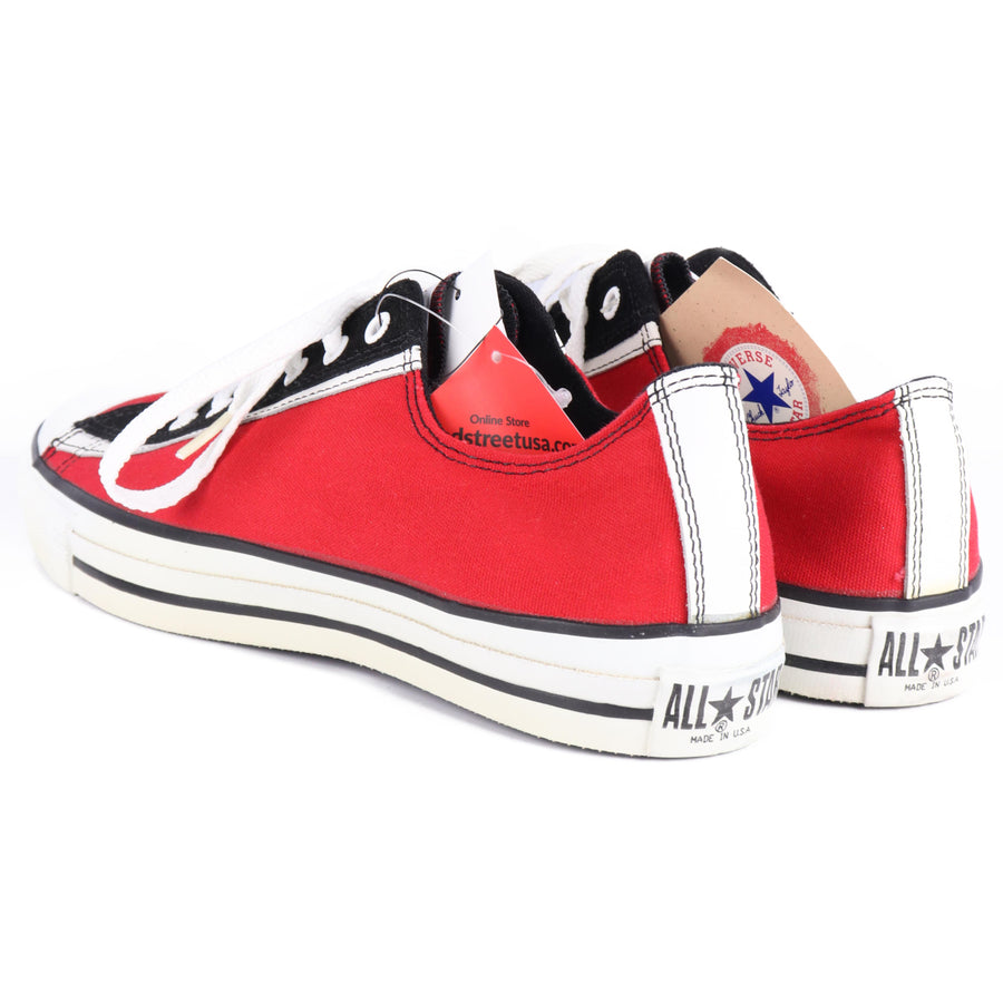 CONVERSE/ALL STAR/USA/Low-Sneakers/US9.5/RED