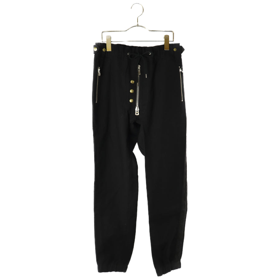 TAKAHIROMIYASHITA The Soloist/Sarouel Pants/XL/Cotton/BLK