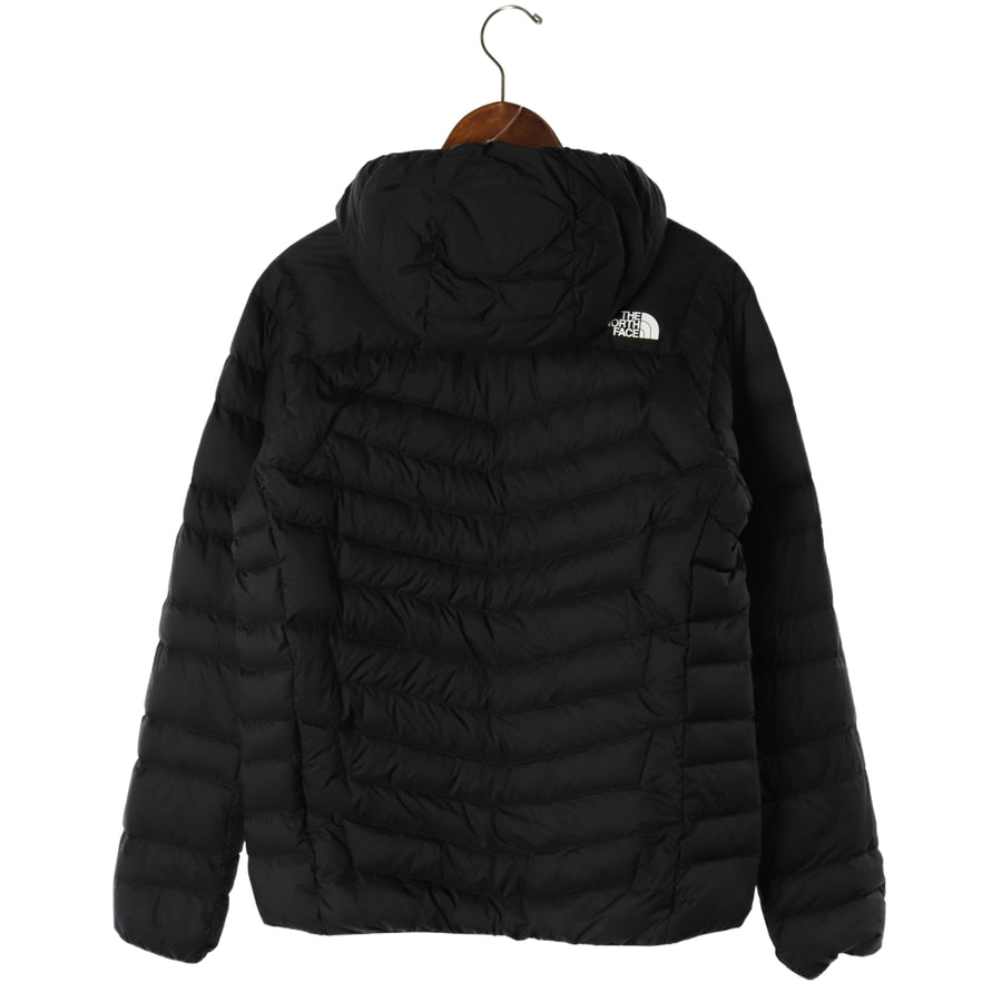 THE NORTH FACE/Thunder Hoodie/NY81811/Puffer Jacket/M/Nylon/BLK