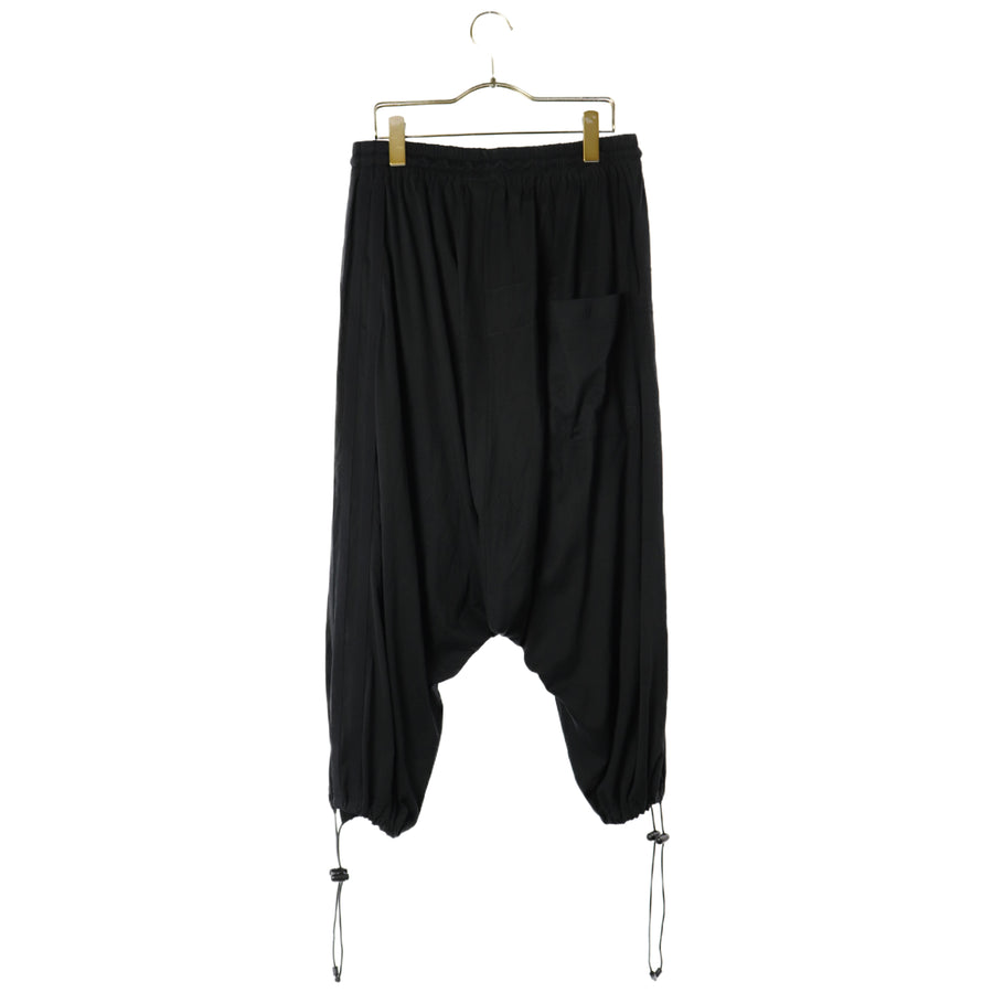 Y-3/Sarouel Pants/S/Cotton/BLK