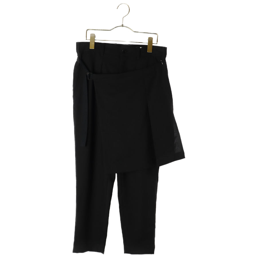 Ground Y/Pants/1/Wool/BLK/Plain/GW-P16-120