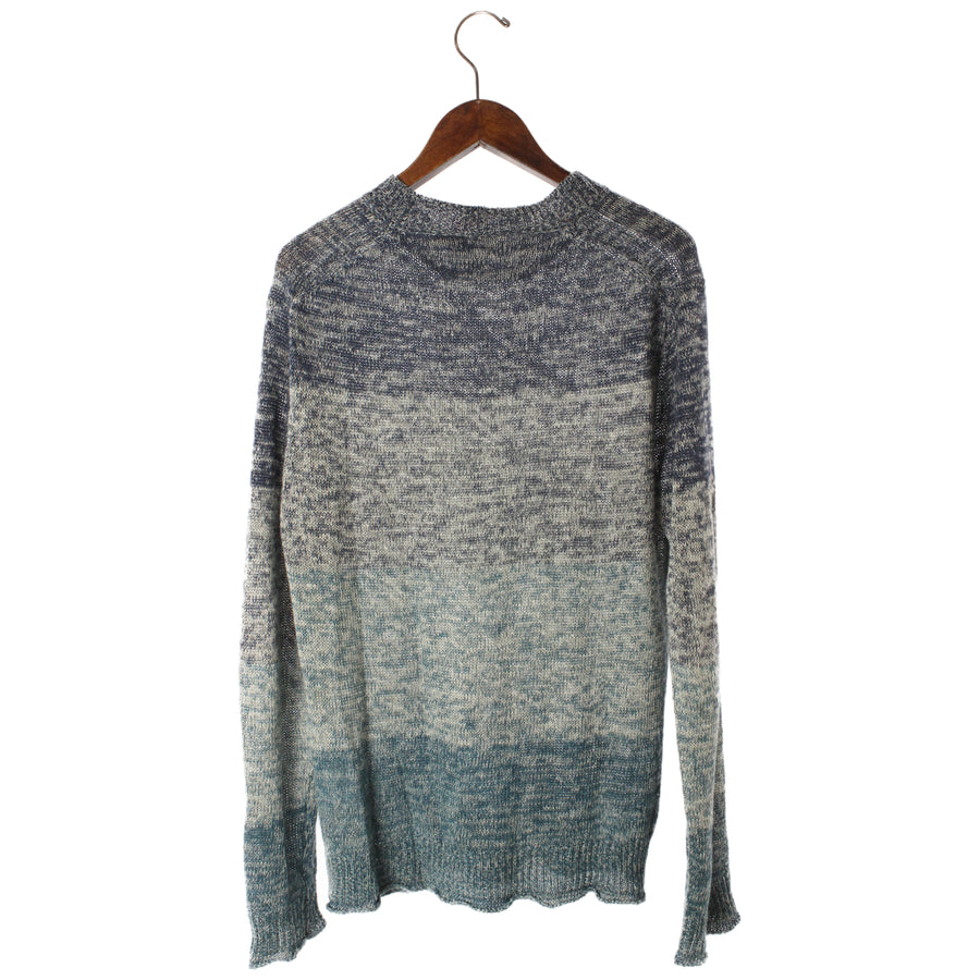 ROBERT GELLER/Sweater/1/Linen/BLU
