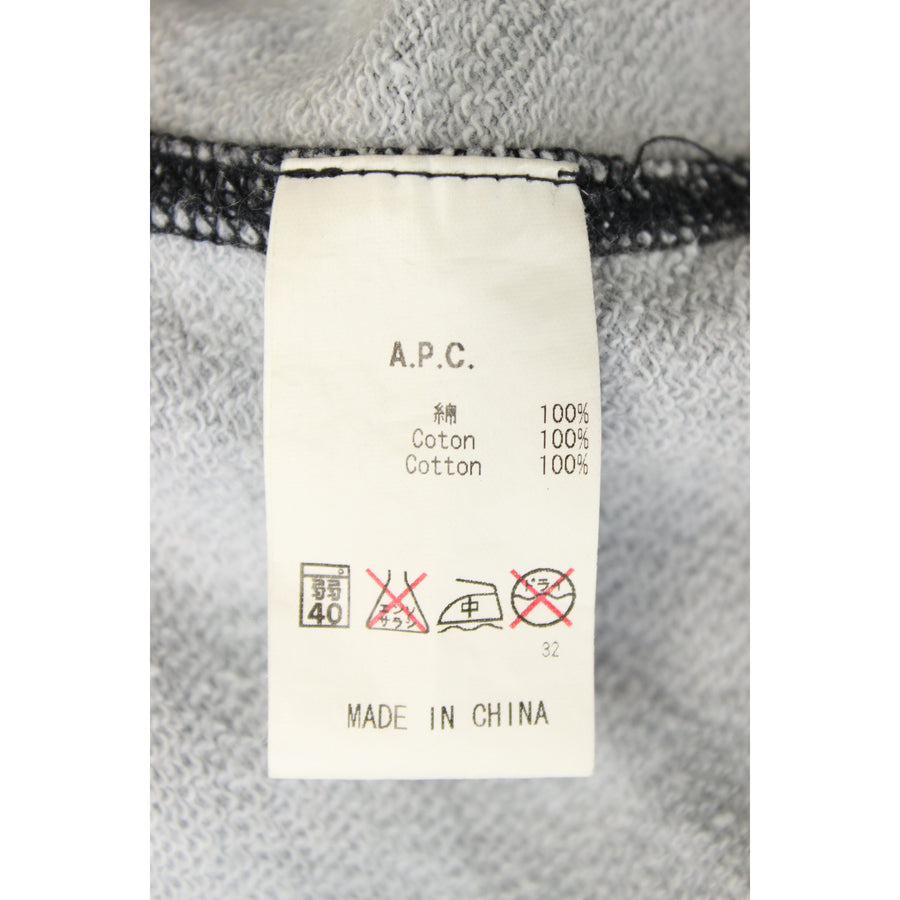 A.P.C./Hoodie/S/Cotton/NVY