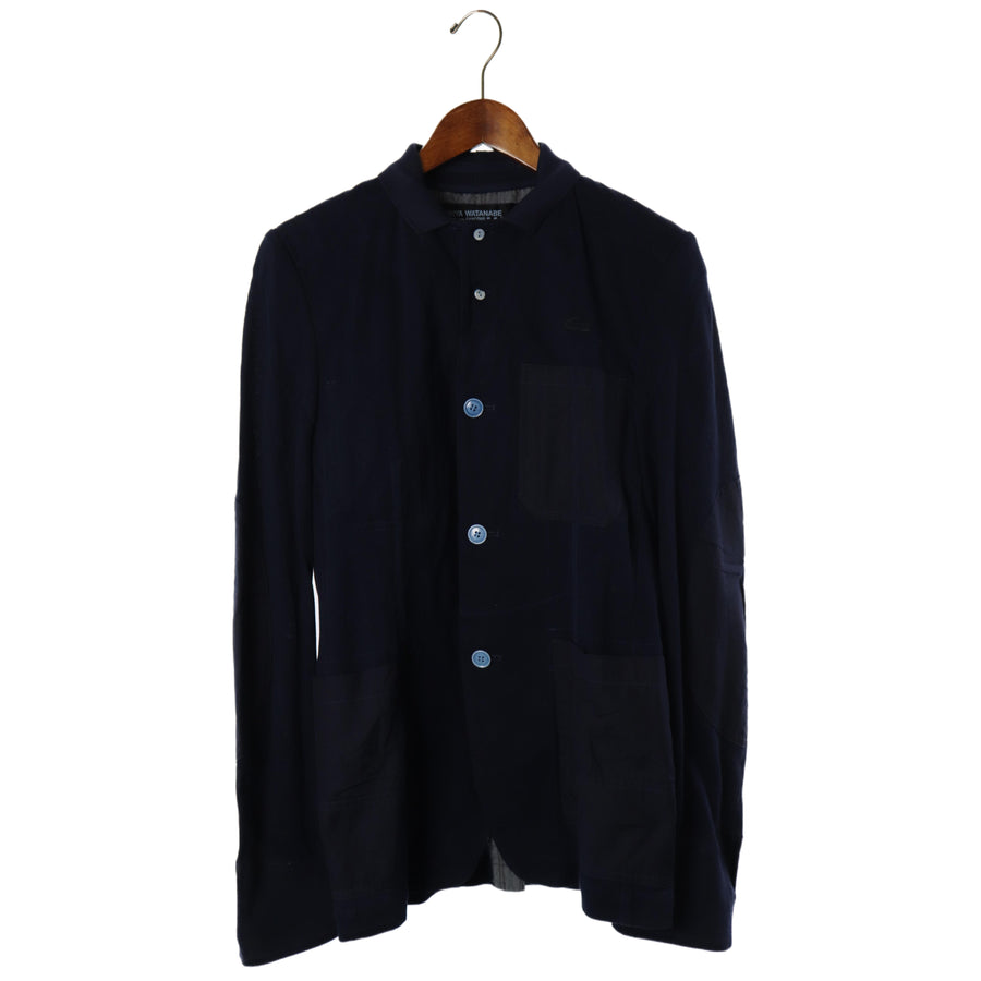JUNYA WATANABE MAN/Tailored Jacket/M/Cotton/NVY/wa-j018