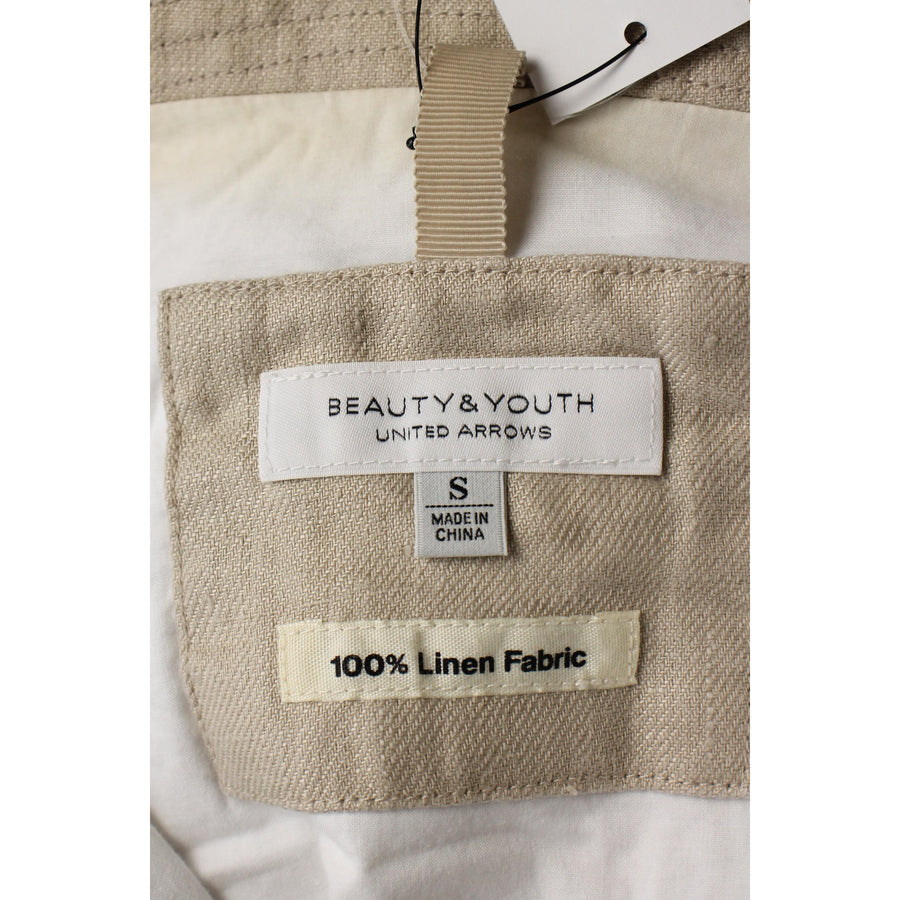 BEAUTY&YOUTH UNITED ARROWS/Jacket/S/Linen/BEG