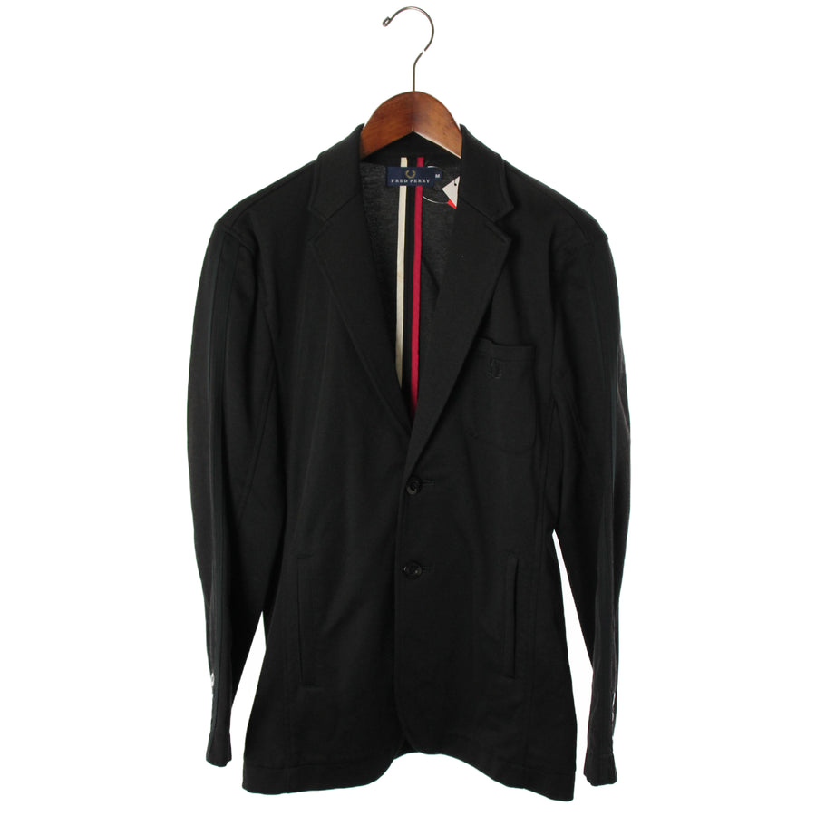 FRED PERRY/Jacket/M/Polyester/BLK