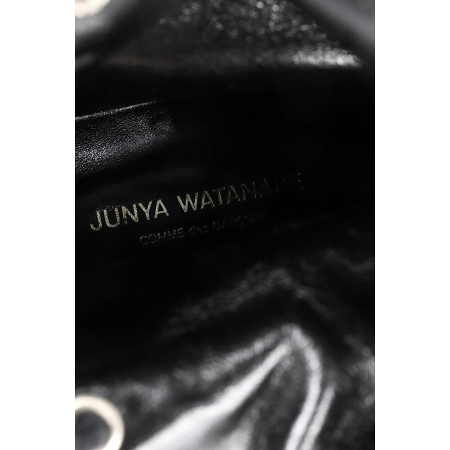 JUNYA WATANABE/Long Boots/S/BLK/Leather