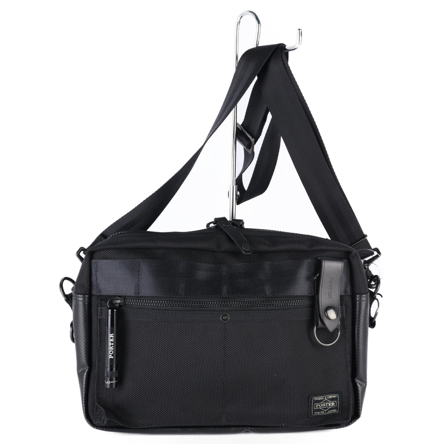 PORTER/Cross Body Bag/BLK/Plain