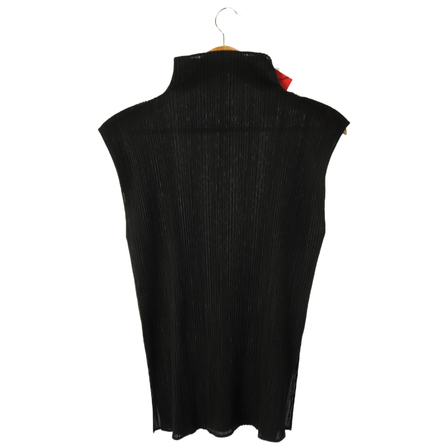 PLEATS PLEASE ISSEY MIYAKE/SL Tops/BLK/Polyester