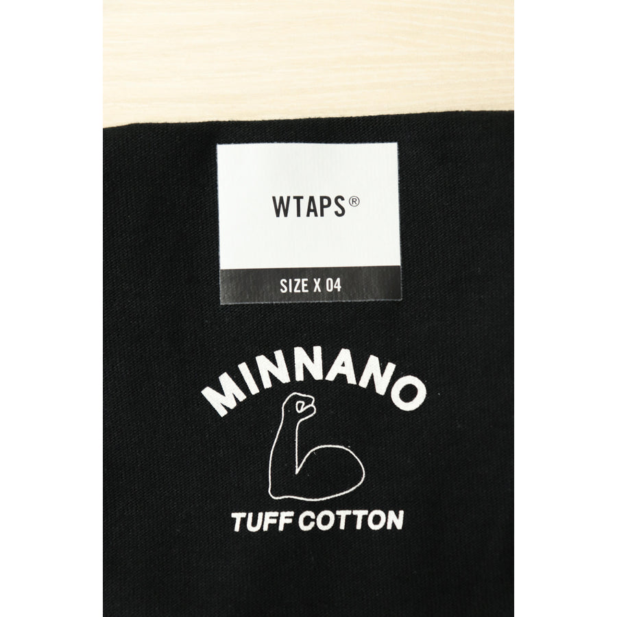 NEIGHBORHOOD/T-shirt/4/Cotton/BLK/19AW/MINNANO/MAXE SS 03 TEE