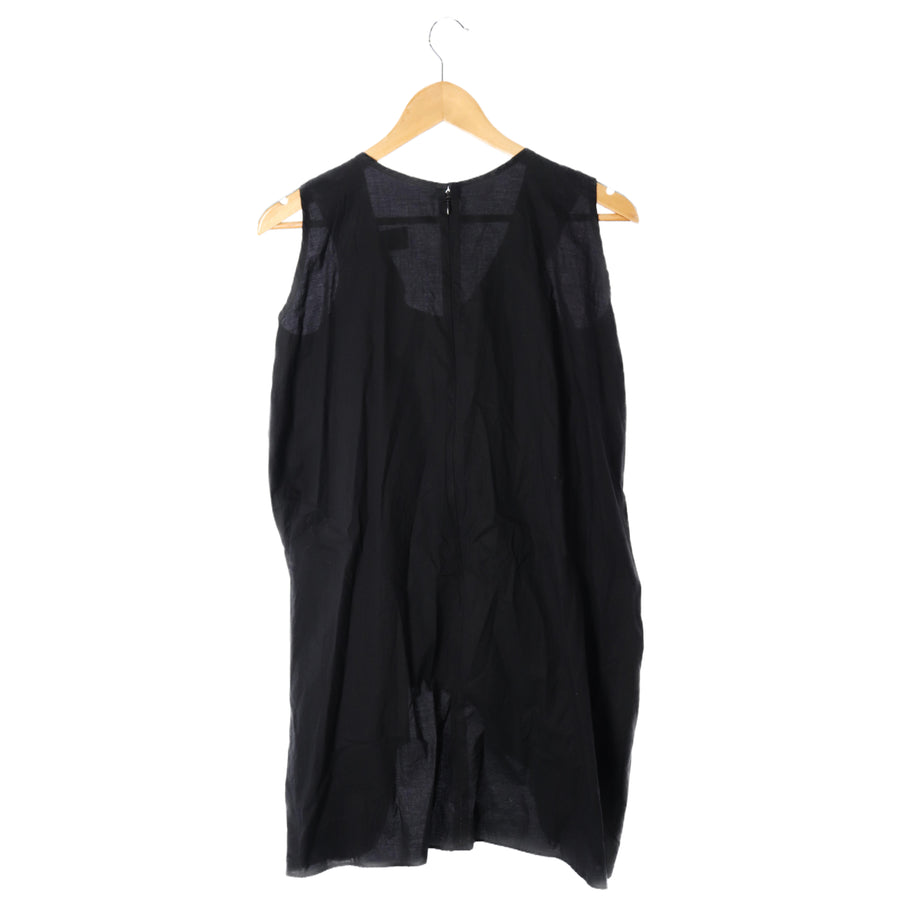MAKI HIROSHIGE ATELIER/rubber/SL Cut & Sew/M/Cotton/black/GB-B73