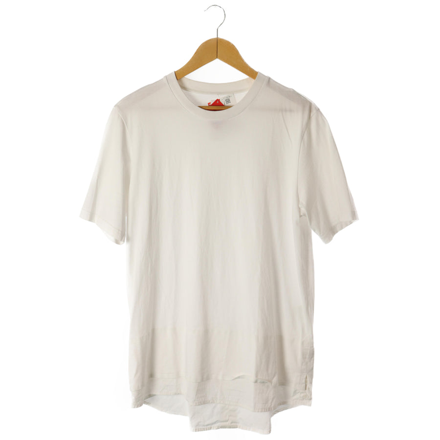 OAMC (OVER ALL MASTER CLOTH)/T-shirt/L/Cotton/WHT/IO21695/16SS