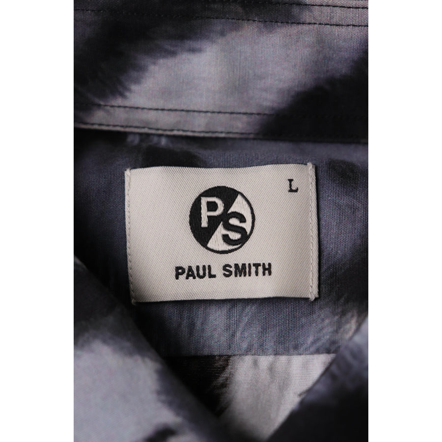 PS Paul Smith/TIGER PRINT SHIRTS/L/Cotton/MLT/Animal/PY-CR-52429