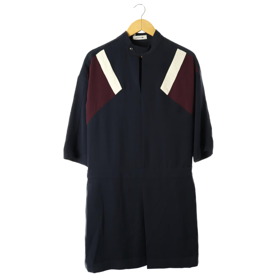 LACOSTE/LS Dress/38/Polyester/NVY