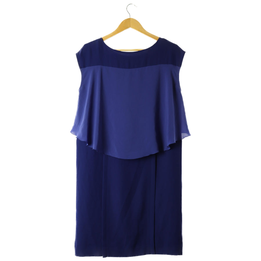 PLAIN PEOPLE/Dress/3/Polyester/BLU