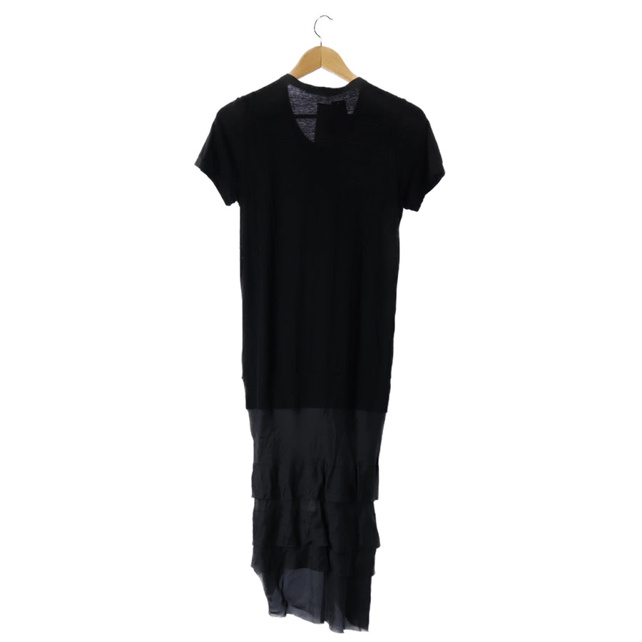 sacai luck/12SS/switching/SS Dress/2/Cotton/BLK