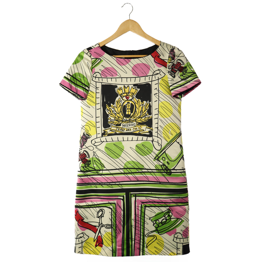 MOSCHINO/Dress/38/Polyester