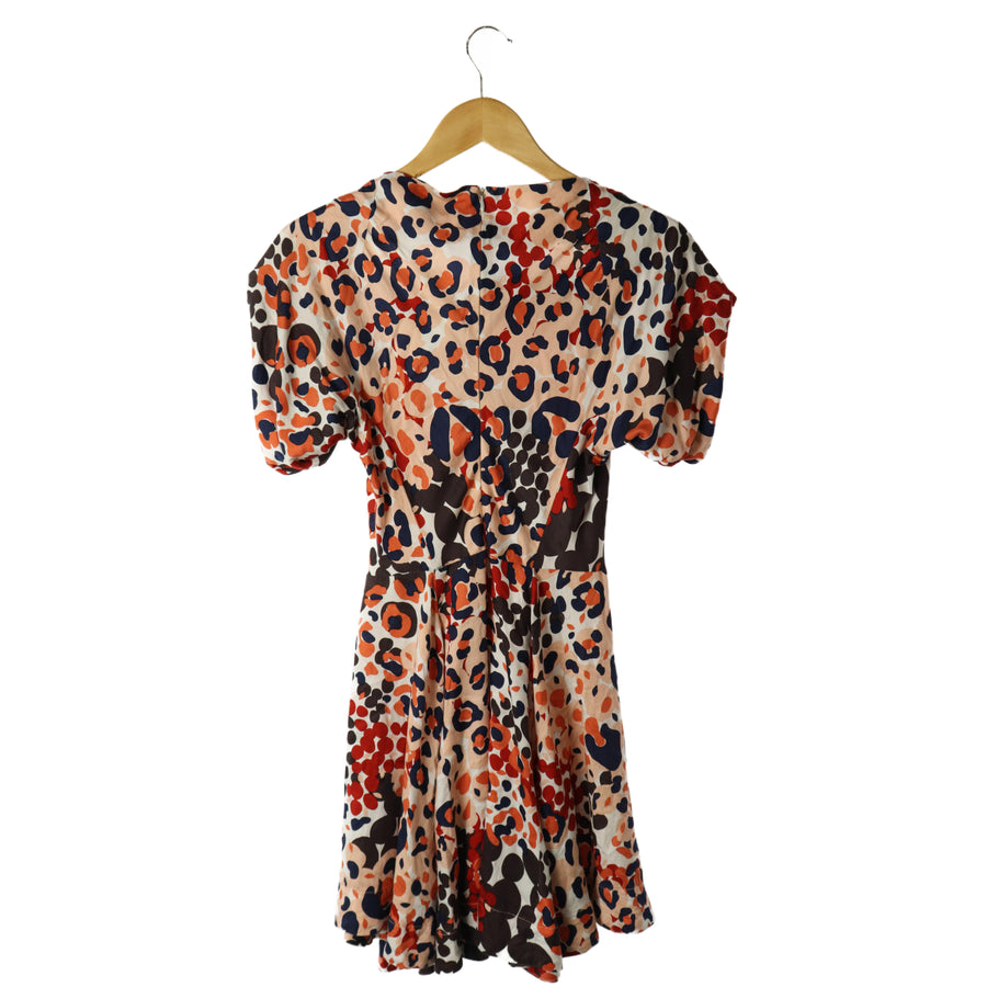 Vivienne Westwood RED LABEL/SS Dress/2/Cotton/RED/All Over Print
