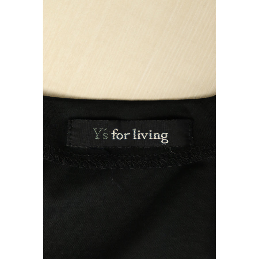 Ys for living/Cardigan/Cotton/BLK