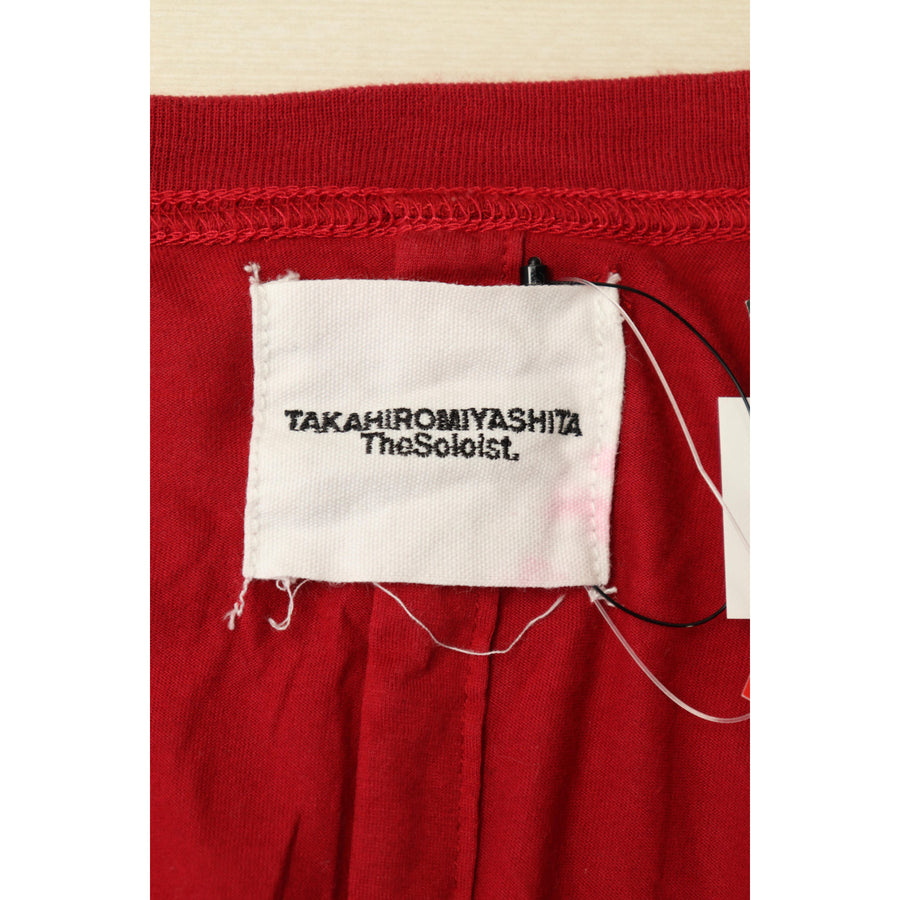 TAKAHIROMIYASHITA The Soloist/Cut & Sew/46/Cotton/RED