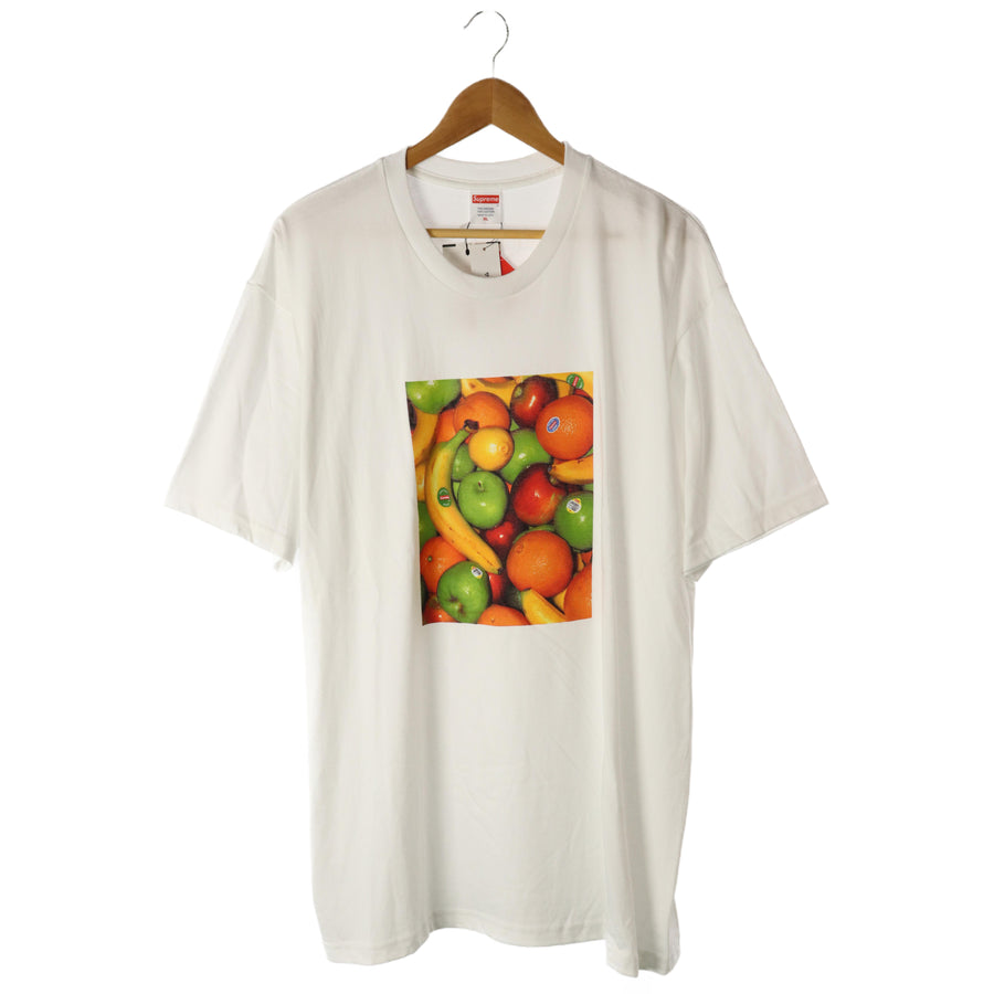 Supreme/19ss/Fruit TEE/T-shirt/XL/Cotton/WHT