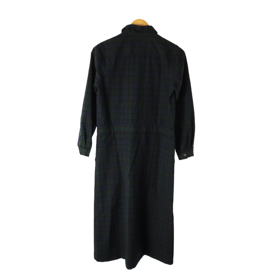 COMME des GARCONS/Shirt Dress/one/wool/GRN/Plaid